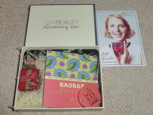 You Beauty Discovery Box Nov 2014
